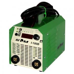 Сварочный инвертор Атом I-180D (с комплектом кабелей для сварки)